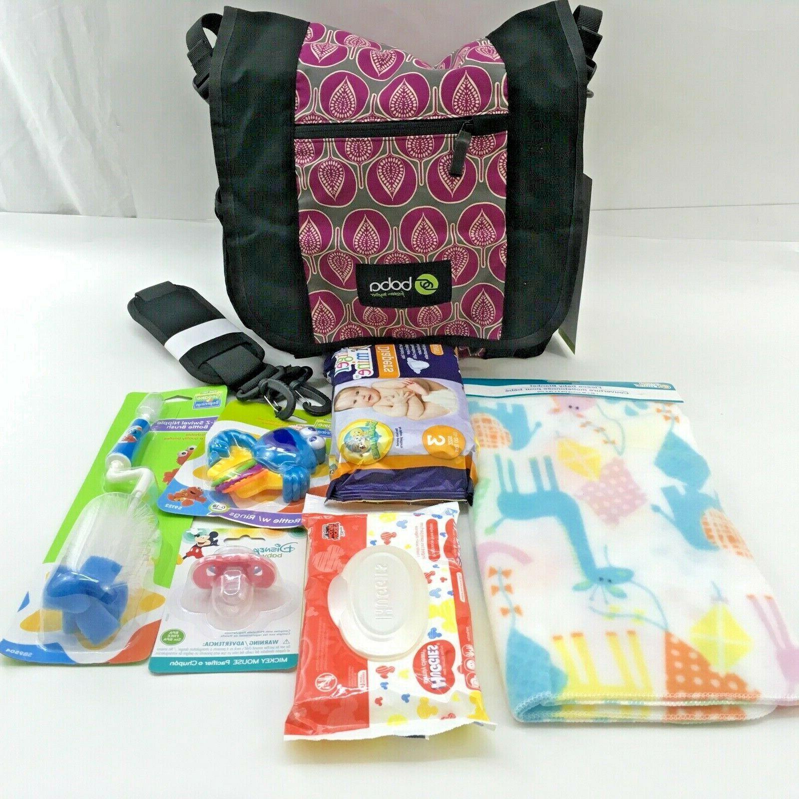 shoulder diaper bag can attach