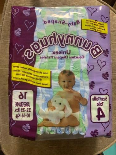 size 4 large unisex baby diapers 22