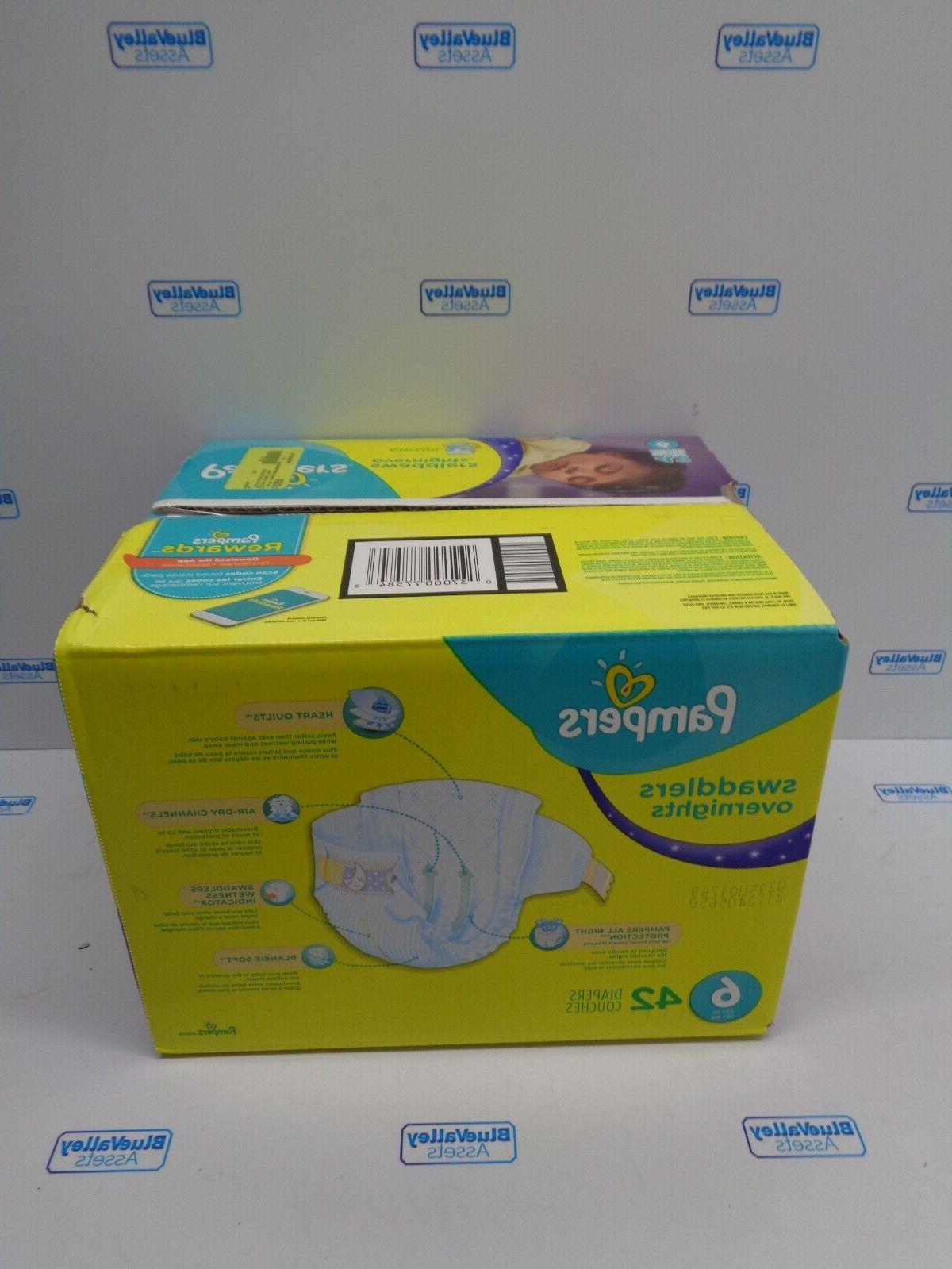 PAMPERS OVERNIGHT, NEW