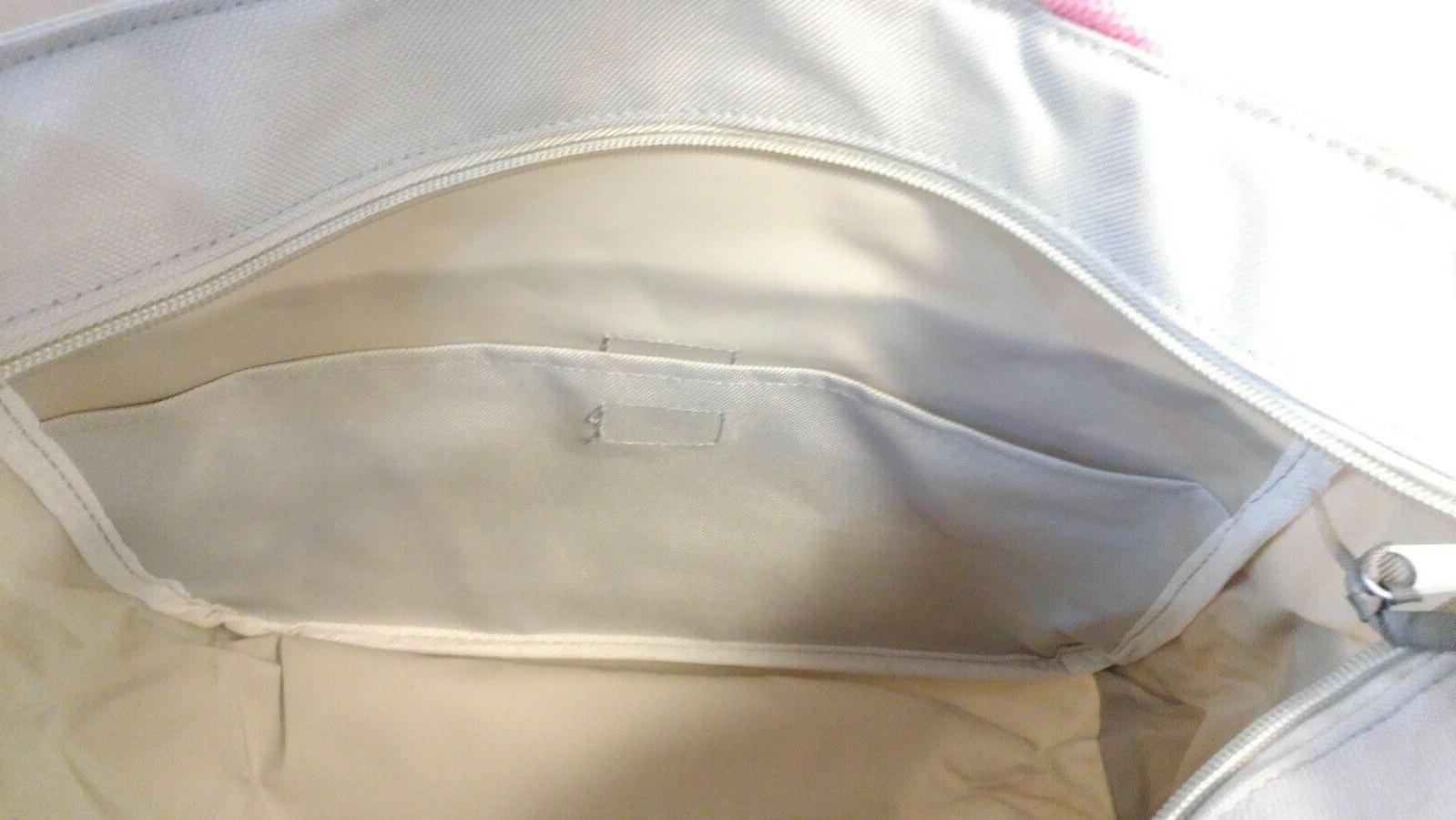 Small Baby Bag + Accessory Grey Dots NWT
