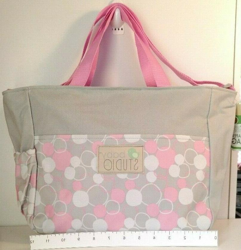 Small Girl Bag Accessory Pink White Dots NWT