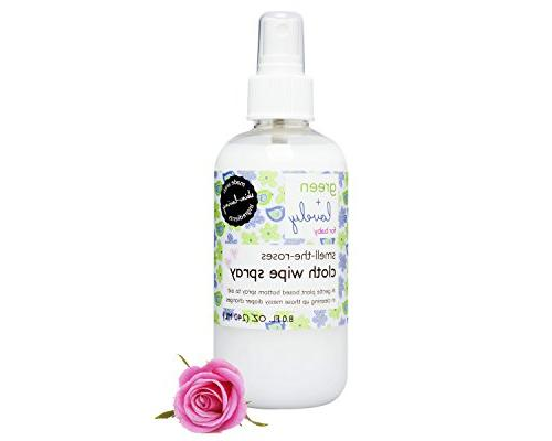 smell roses cloth wipe
