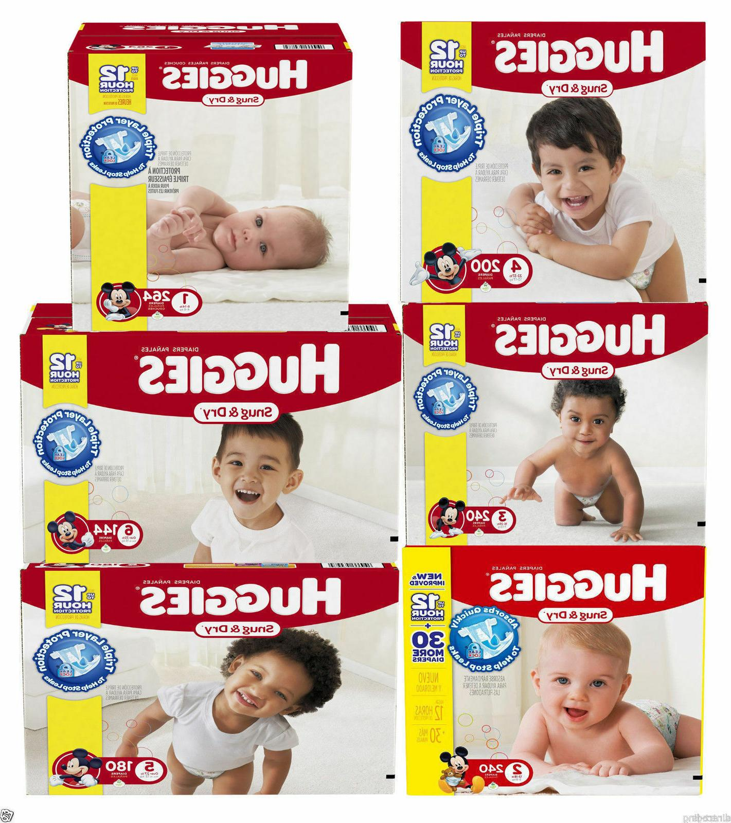 snug and dry baby diapers size n