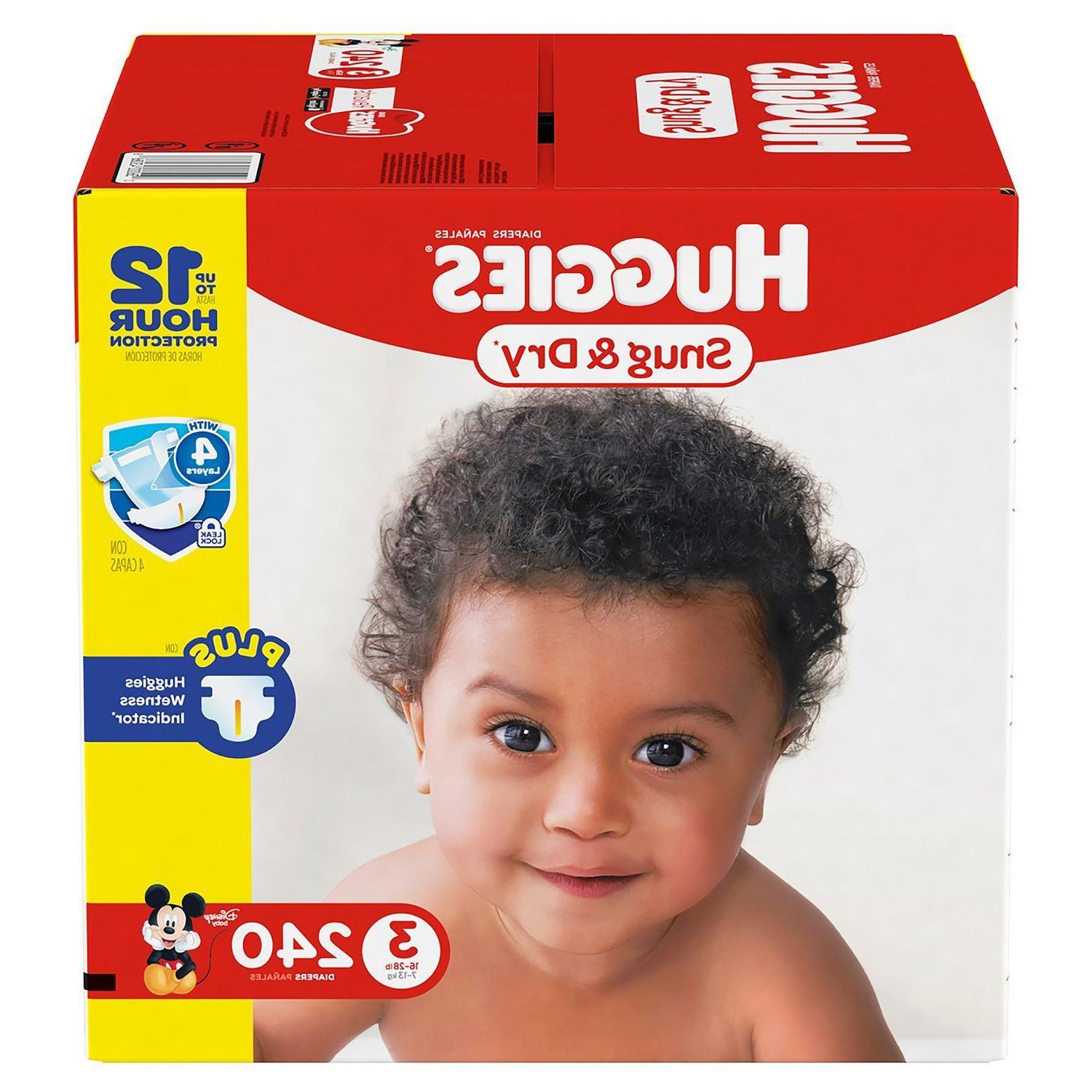 snug and dry baby diapers size 3