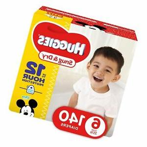 snug and dry baby diapers size 6