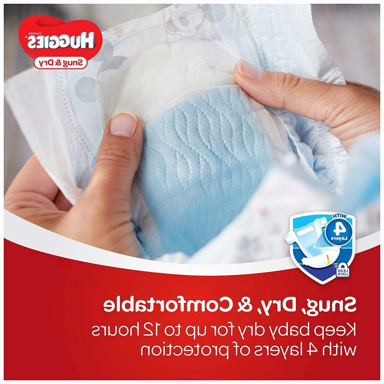 HUGGIES Snug Diapers, Size