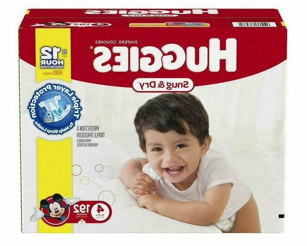 snug and dry disposable diapers size 4
