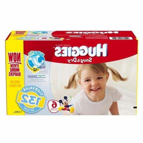 Huggies Dry SureFit 2 6 ANY SIZE FAST