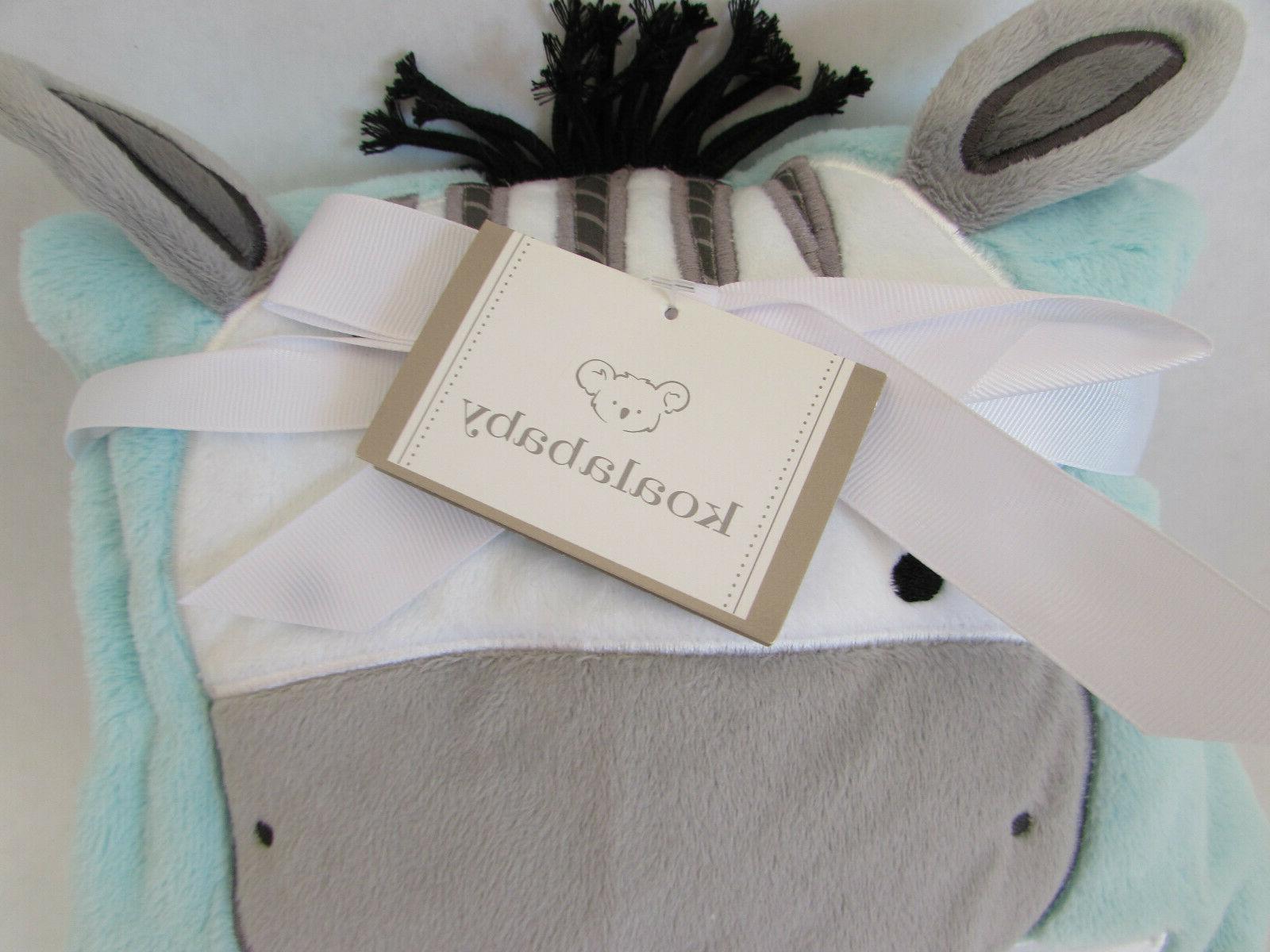 "Koala Baby Blanket 30"" x Mint Color"