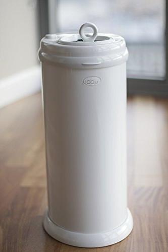 Ubbi Special Steel Odor Locking White