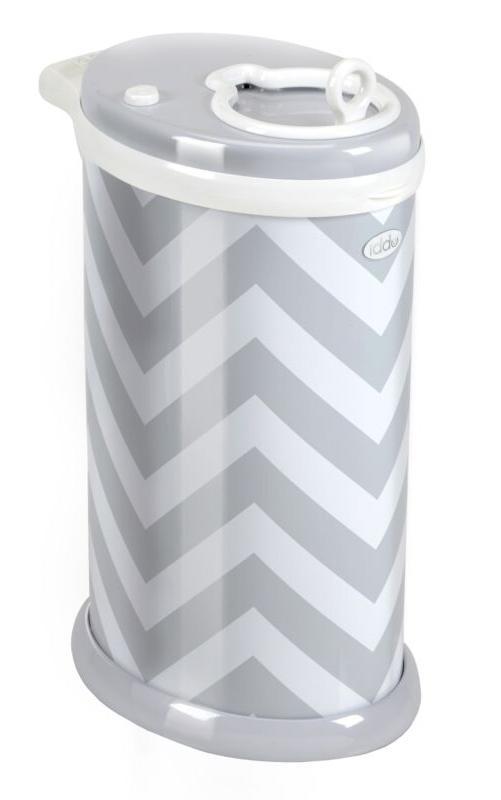 Ubbi Steel Diaper Pail Gray