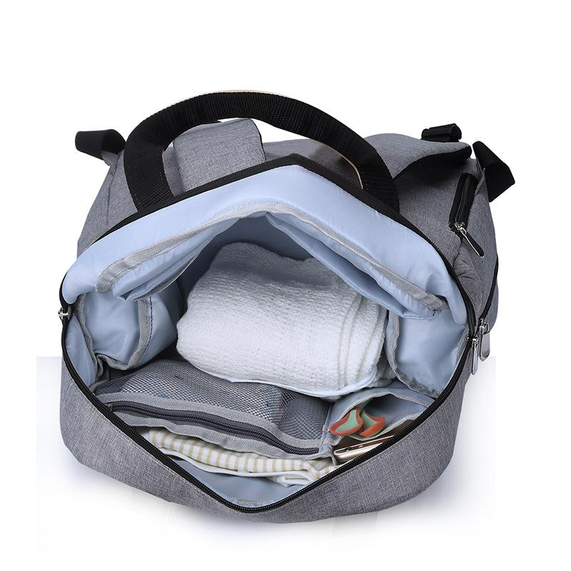 Stripe Mommy Maternity Bag for Stroller Backpack Bottle <font><b>Powder</b></font> Bag Women Handbag