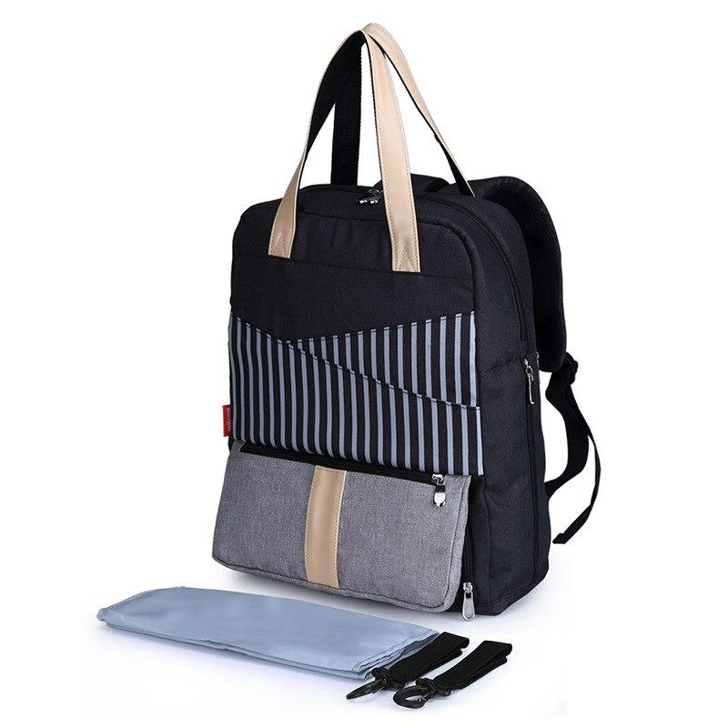 Stripe for Backpack <font><b>Powder</b></font> Bag Organizer Women Handbag