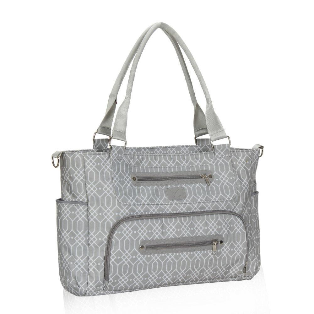 Style Mummy Baby Diaper Bag Tote Nappy Feeder Bottle for Baby