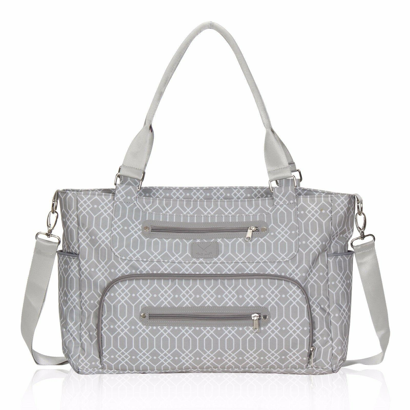 style mummy baby diaper bag tote outdoor