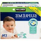 Kirkland Signature Supreme Diapers Size 2 174 Ct SEALED!!!