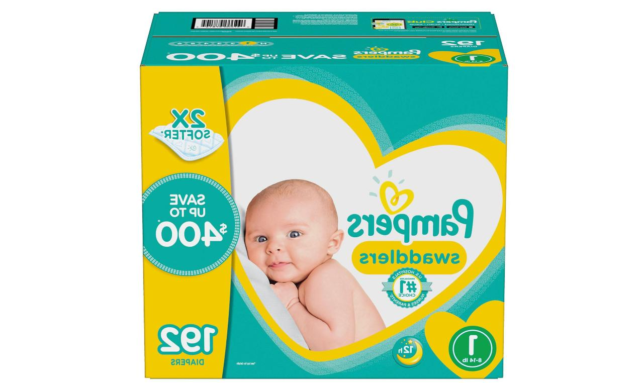 swaddlers diapers all size newborn 1 2