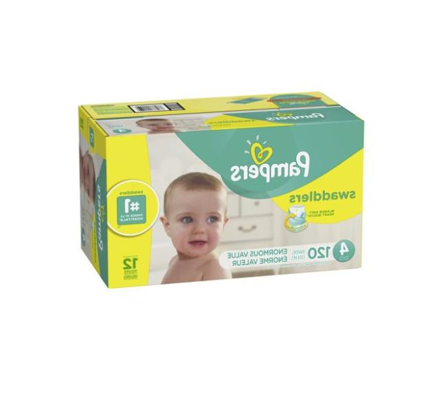 swaddlers diapers size 4 120 count free