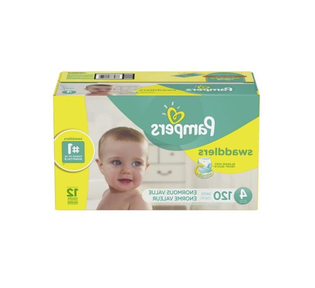 Pampers Swaddlers Size 4 Count - Free
