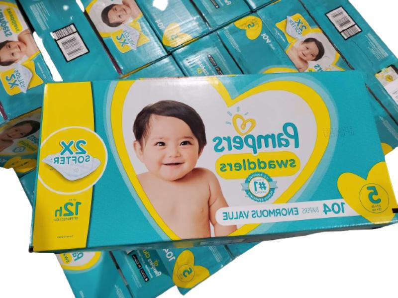 swaddlers diapers size 5 104 count free