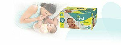Pampers Diapers 168 Count, ONE MONTH SUPPLY