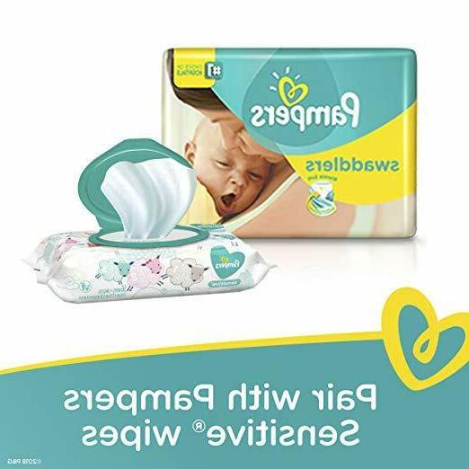 Pampers Swaddlers Diapers, Size Count
