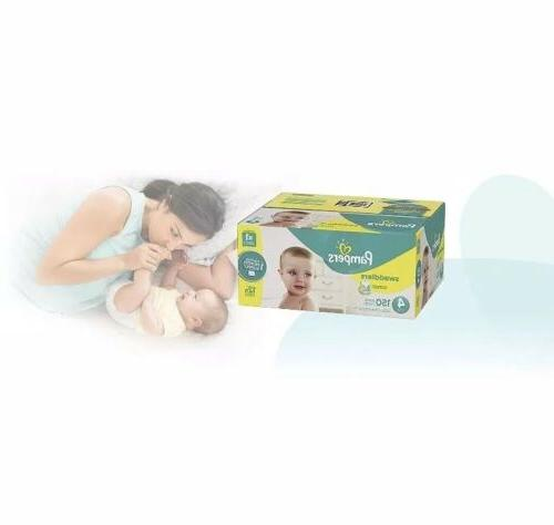 Pampers Swaddlers Disposable Baby Diapers Count, ONE MONTH