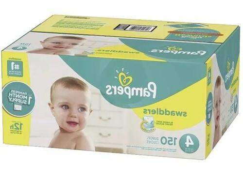 Pampers Swaddlers Diapers Size Count, ONE MONTH