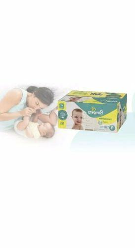 swaddlers disposable baby diapers size 4 150