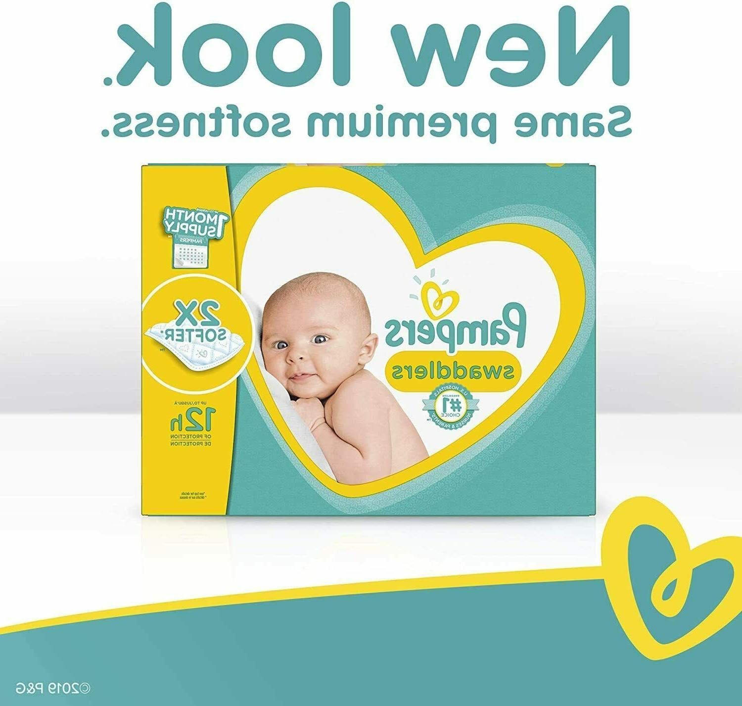 Pampers Swaddlers Diapers Size 186 Count AMM