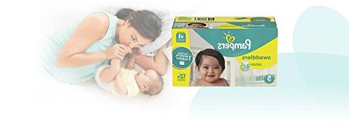 Pampers Swaddlers Diapers Size Count,