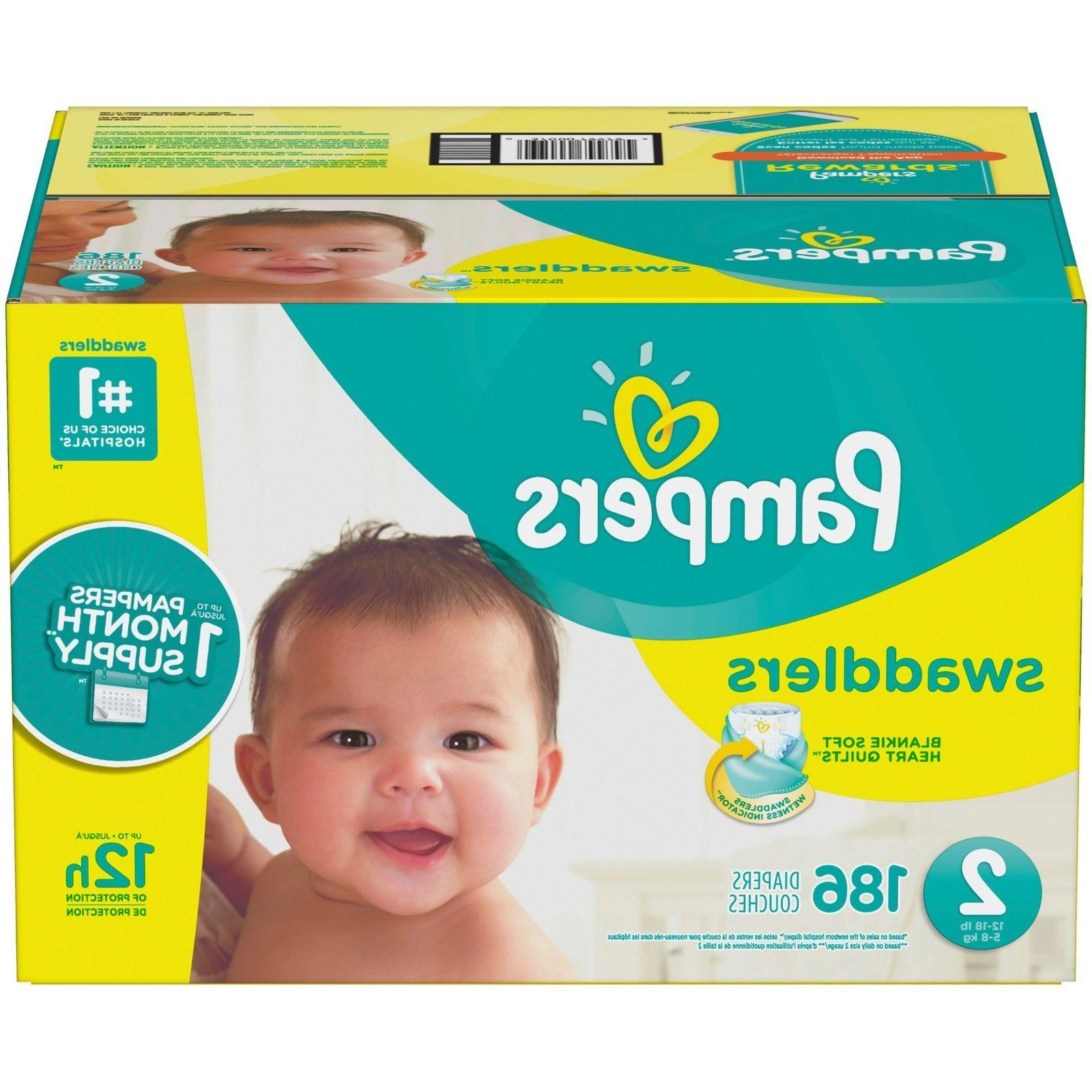 Pampers Swaddlers Size