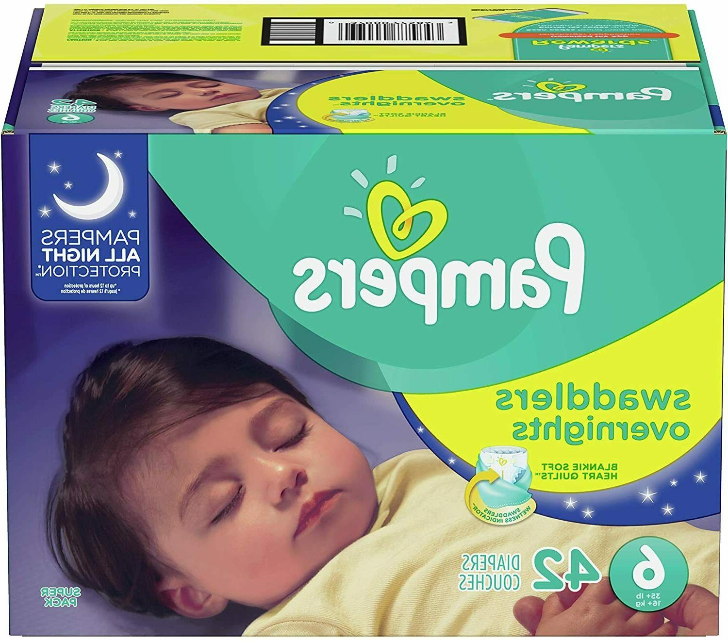 Pampers Swaddlers Overnight -
