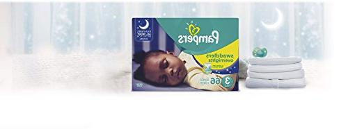 Pampers Swaddlers Overnights Baby Diapers Size 66