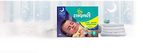 Pampers Swaddlers Overnights Baby 58