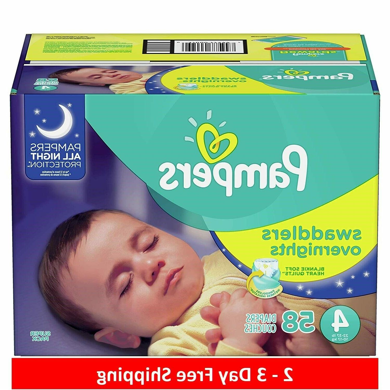 swaddlers overnights disposable diapers 4
