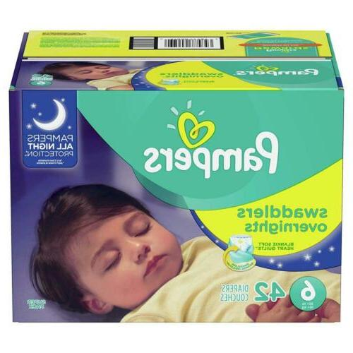 swaddlers overnights disposable diapers 6