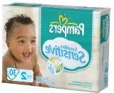 Pampers Swaddlers Sensitive Sz 2 Pack of 30