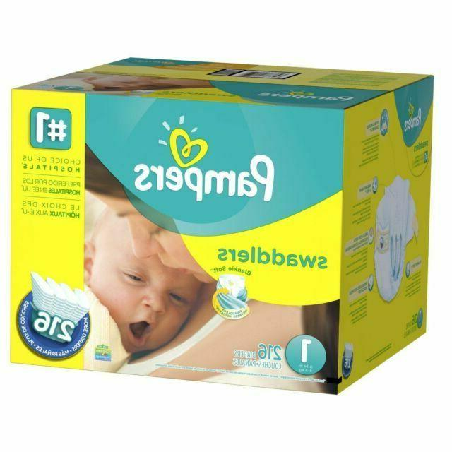 swaddlers diapers newborn size 1 8 14