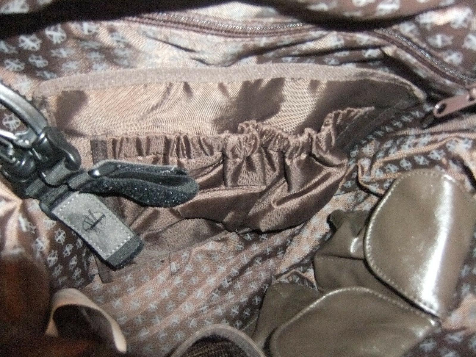 Lassig Tender V Bag Diaper Friendy, Mud Brown & NEW