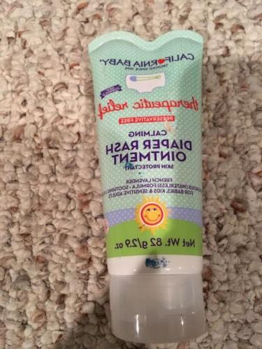 therapeutic relief calming diaper rash ointment 2