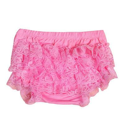 Toddler Infant Lace Ruffle Bloomer Underwear