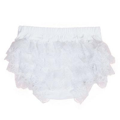 Toddler Baby Infant Lace Bloomer Underwear
