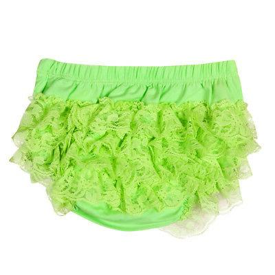 Toddler Baby Infant Lace Ruffle Nappy Underwear Panty