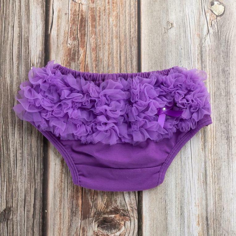 Toddler Baby Girls Bowknot Ruffle Underwear Panty