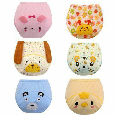 Reusable Kids Waterproof Nappy Diaper Training Pants Baby Na