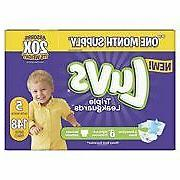 Luvs Triple Leakguards Diapers Size 5 148 Count Free Shippin