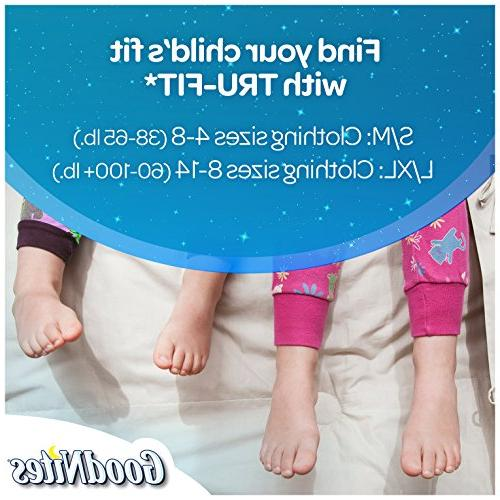 GoodNites TRU-FIT Absorbent Inserts for & Small/Medium, 18 ct