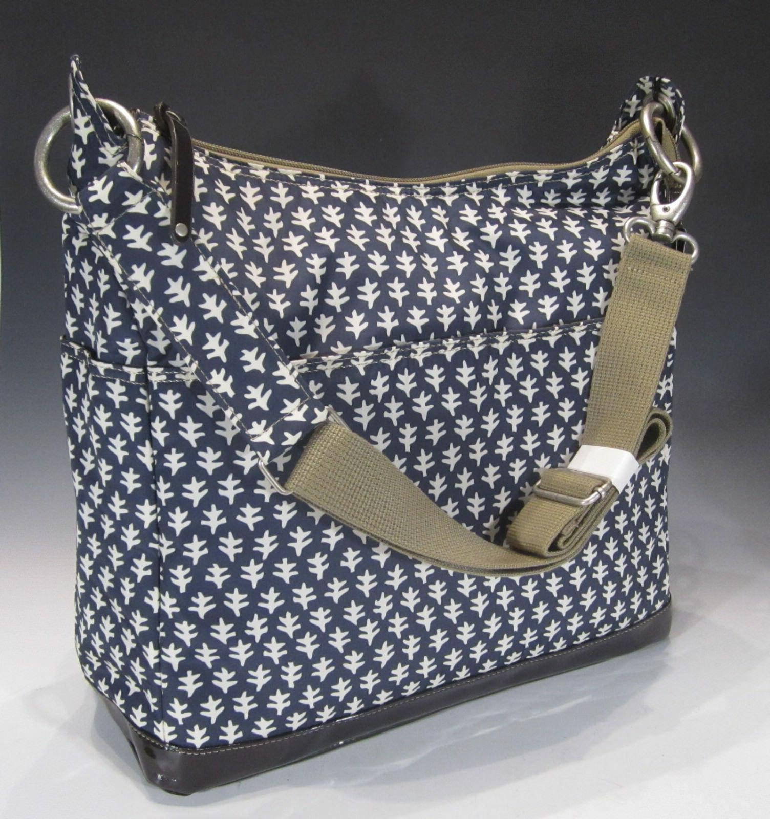 two pocket hobo diaper bag
