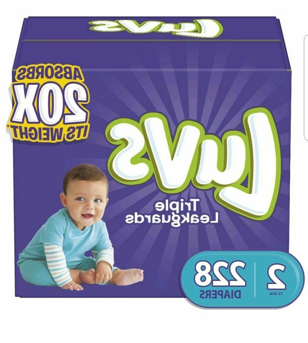 Luvs Baby Diaper 3, 4, ONE DAY